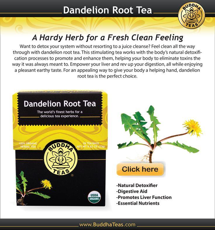 Dandelion Root Tea for Detoxing