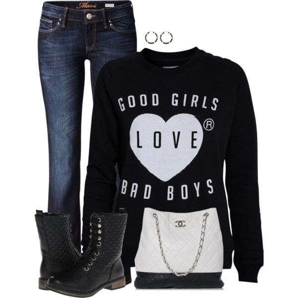 Combat Boots, created by cnh92 on Polyvore   Cute outfits ...