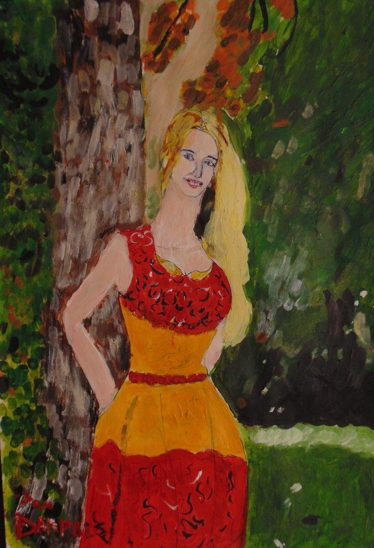 Freedom in the Golden Dress by JemDarpole.deviantart.com on @DeviantArt