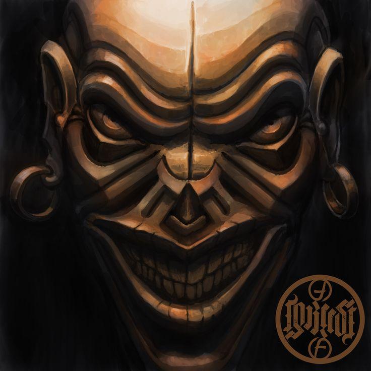 Evil Copper Demon Mask V2 by foreest83.deviantart.com on @DeviantArt