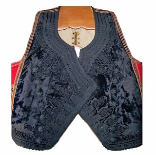 Man's sleeveless vest from Hydra Island (lying to the East of the Peloponnese), ca. 1900.