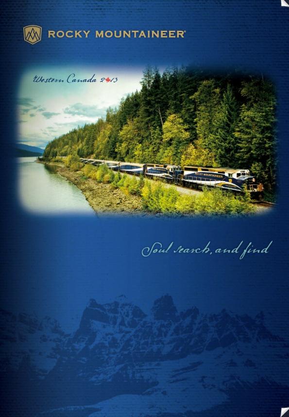 Rocky Mountaineer - 2013 Brochure
