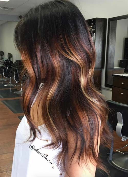 25 Best Gold Highlights Ideas On Pinterest  Summer 2016 Hair Color Brunette