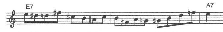Easy rhythm change bebop Jazz lick. | Jazz Trumpet Licks