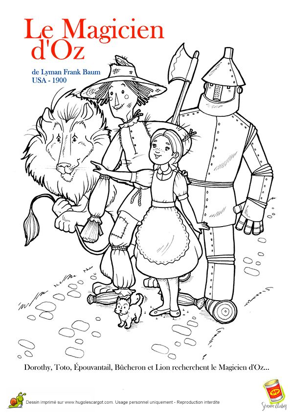 coloriage de contes et légendes
