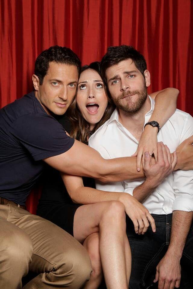"""Grimm"" - Sasha Roiz (Captain Renard), Bree Turner (Rosalee Calvert) and David Giuntoli (Nick Burkhardt)"
