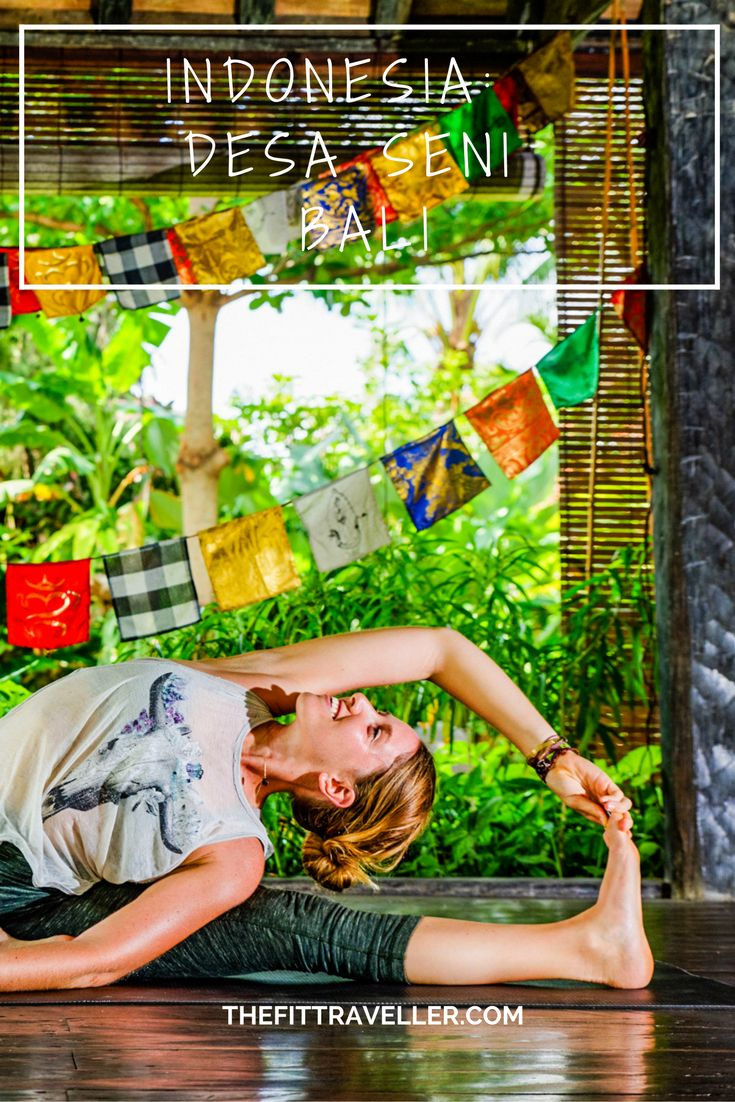 INDONESIA: WEEKEND WELLNESS RETREAT AT DESA SENI, BALI #yoga #yogaretreat #wonderfulindonesia Desa Seni