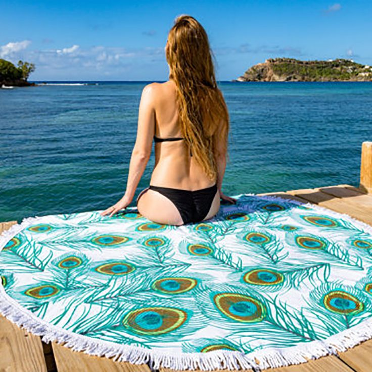 150cm Chiffon Round Mandala tapete Tassel Fringing Cotton Beach Towel Bed Cover Yoga Mat Cotton Table Cloth