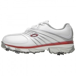 SALE - Oakley Full-Auto Golf Cleats Mens White Leather - Was $140.00 - SAVE $61.00. BUY Now - ONLY $78.99