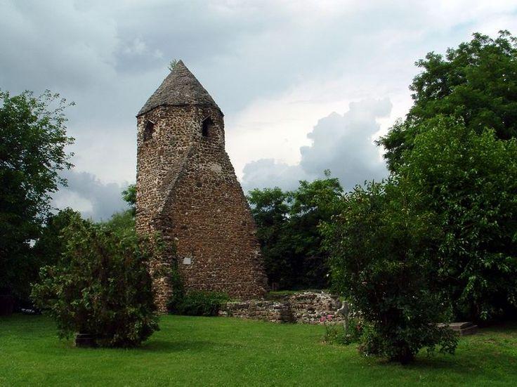 Szigliget - Az avasi templom romjai