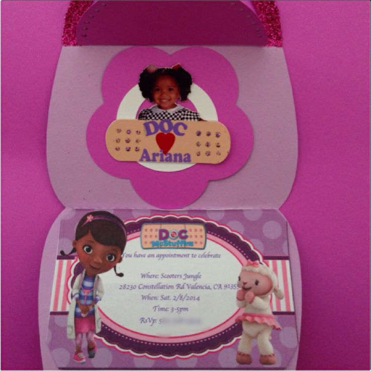 209 best Doc McStuffins Birthday Theme images on Pinterest | Toys ...