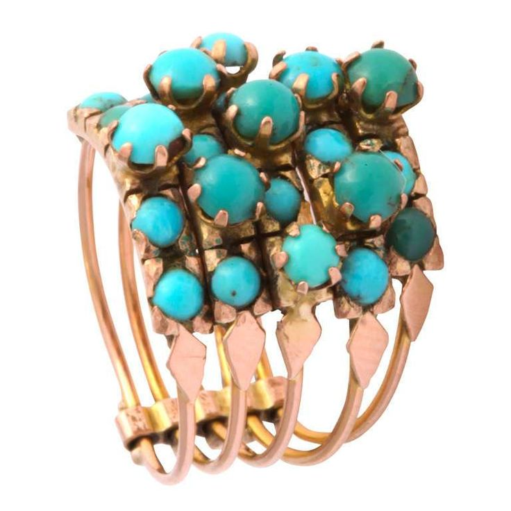 Best 25 Gold turquoise ring ideas on Pinterest