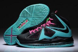 Green Nike James 10 Women Shoes