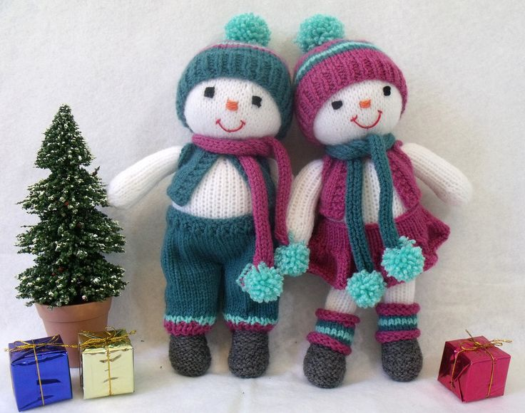 Winter dolls.