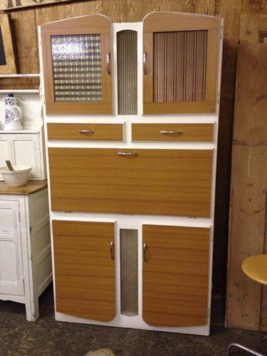 Kitsch Retro Vintage 1950 S Kitchen Larder Pantry Cupboard