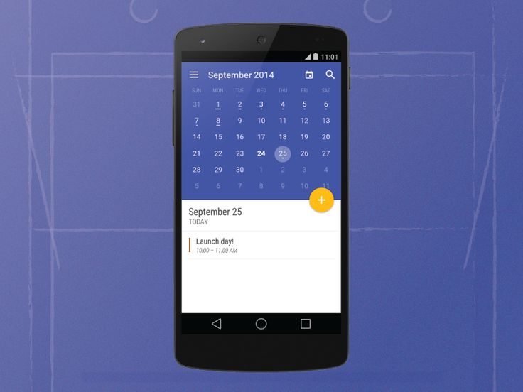Complete visual design overhaul for Today Calendar, now live in the Google Play Store: https://play.google.com/store/apps/details?id=com.underwood.calendar_beta  Inspired by Google's new material d...