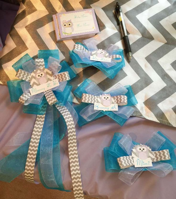 409 best baby shower images on pinterest baby shower themes conch fritters and baby showers - Baby shower chevron decorations ...