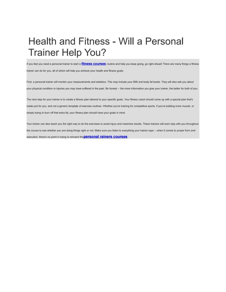 Best  Personal Trainer Qualifications Ideas On