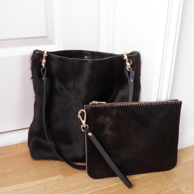 SILJE OPAAS | Handmade cowhide shoulder bag and clutch