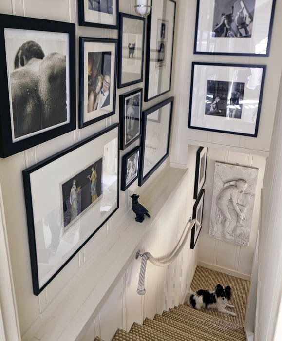 50 best images about staircase wall decorating ideas on ...