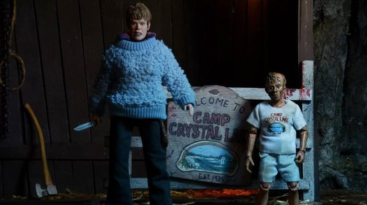 Image Gallery: Mrs. Voorhees and Young Jason Action Figure Two-Pack!