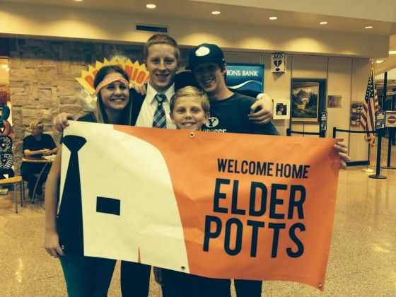 Welcome Home Elder Banner For The Airport | www.signs.com #missionary #lds
