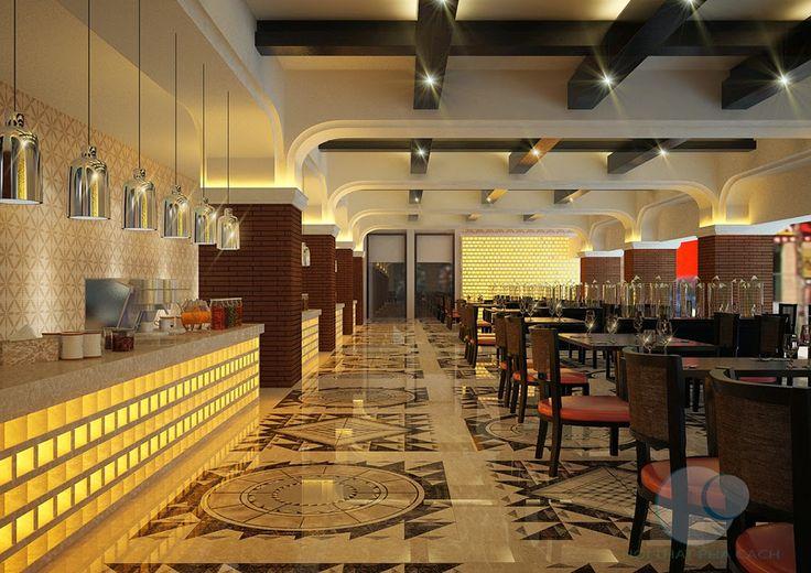 Thiết kế nội thất cafe nhà hàng phong cách Địa Trung Hải | NỘI THẤT PHÁ CÁCH