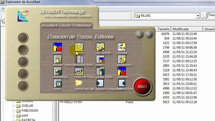 Demostración de Sistema CAD GERBER TECHNOLOGY
