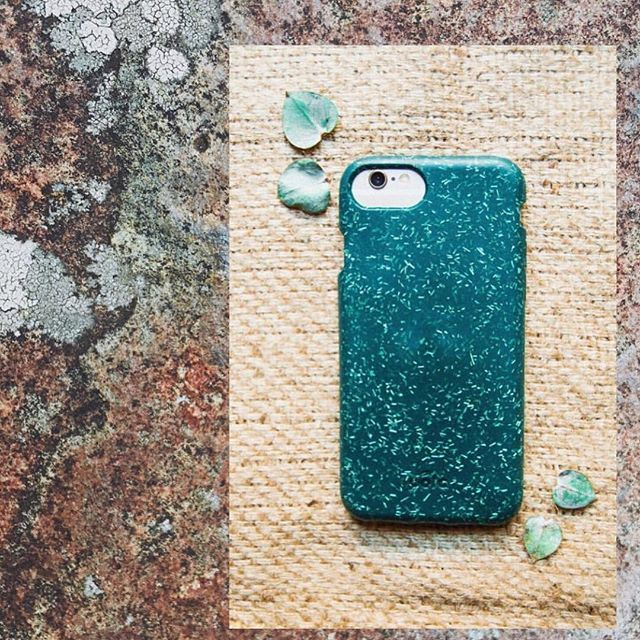 best website 941f4 d6ca6 forest green phone case / eco friendly iphone case / compostable ...