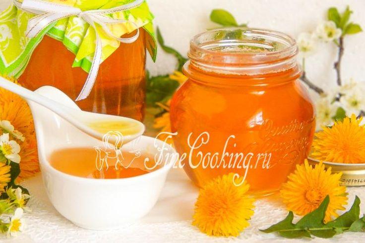 Варенье из одуванчиков с лимоном - рецепт с фото