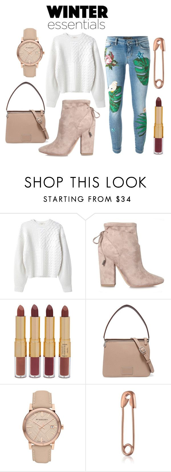 """""""Sin título #144"""" by caritoservino on Polyvore featuring moda, Kenzo, Kendall + Kylie, tarte, Marc by Marc Jacobs, Burberry y Dolce&Gabbana"""