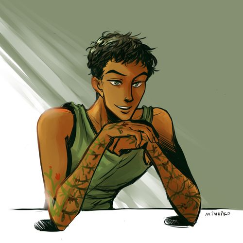 Minuko's Briar Moss (from Tamora Pierce's Circle of Magic series)