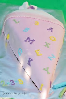 Oh my gosh! I need to make a Schultüte Cake for the first day of school!!!!!