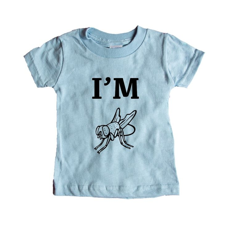 I'm Fly Cool Hip Flies Animal Animals Insect Insects Bug Bugs Pun Puns Play On Words Funny SGAL9 Baby Onesie / Tee