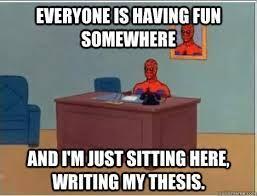 high school senior thesis ideas