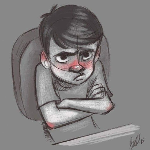 angry boy drawing - photo #20