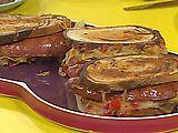 Grilled Split Kielbasa Reubens with Warm Mustard-Caraway Sauerkraut