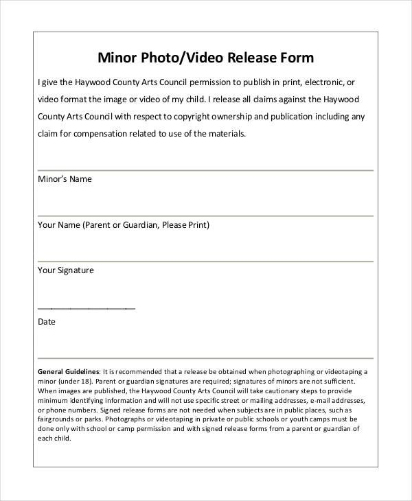 photography forms templates photo release form template 9 free pdf documents download free