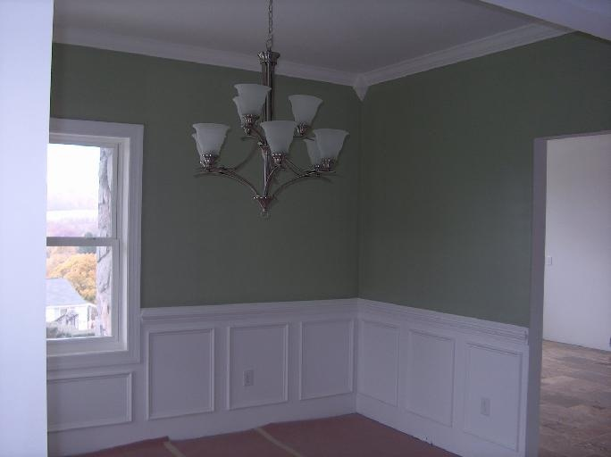 Wayne 39 s coating in dinning room crown molding and waynes for Dining room molding designs