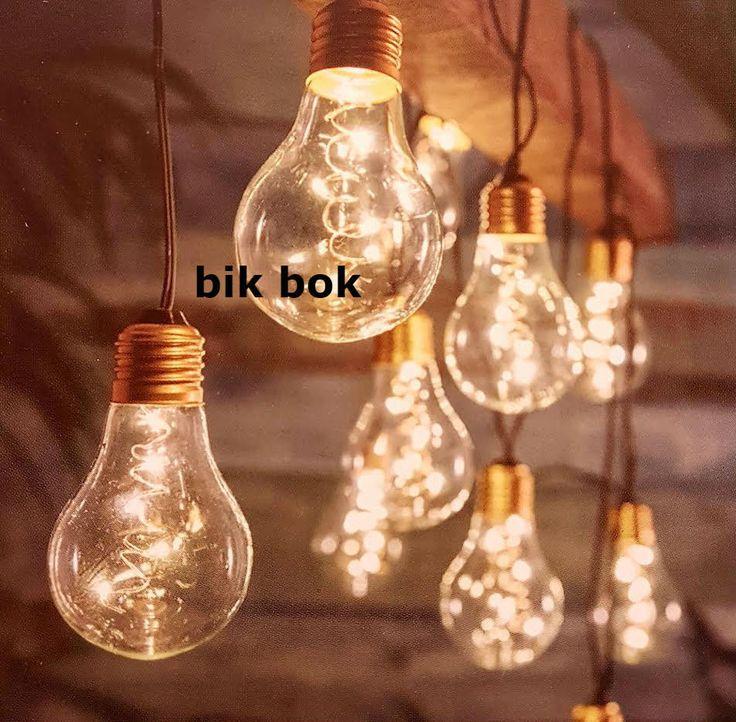 10 Retro Festoon Lightbulb String Lights  Outdoor / Indoor Use | eBay