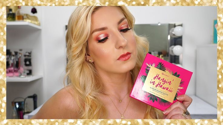 BH Cosmetics HANGIN IN HAWAII PALETTE TUTORIAL   Overview + Swatches