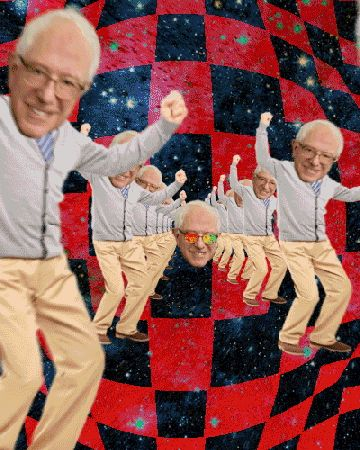 New trending GIF on Giphy. trippy memes drugs weed acid 1960s bernie sanders stoned bernie dank stoners dank memes. Follow Me CooliPhone6Case on Twitter Facebook Google Instagram LinkedIn Blogger Tumblr Youtube