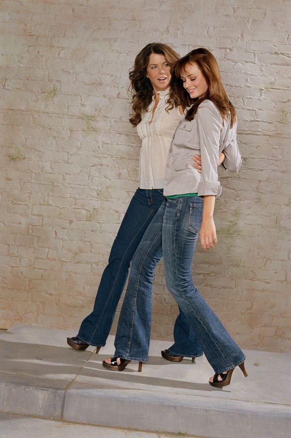 Alexis Bledel / gilmore girls   Gilmore Girls season 7 Alexis Bledel Lauren Graham   DVDbash