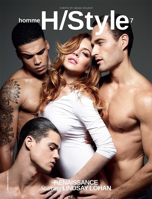Christian Santamaria for Homme Style HOMME STYLE Magazine Spring/Summer 15 Cover