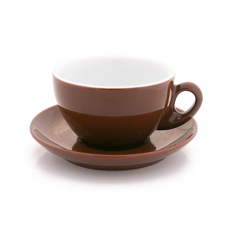 Inker brown cappuccino cup 7 oz demitasse