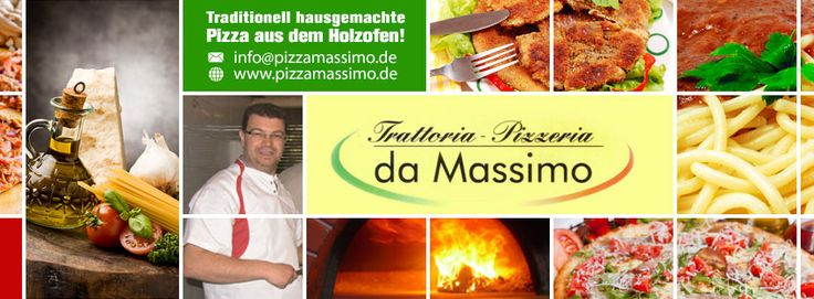 Pizzeria da Massimo Original Pizza aus dem Holzofen