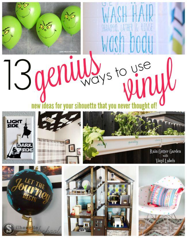 13 Genius Ways to Use Vinyl