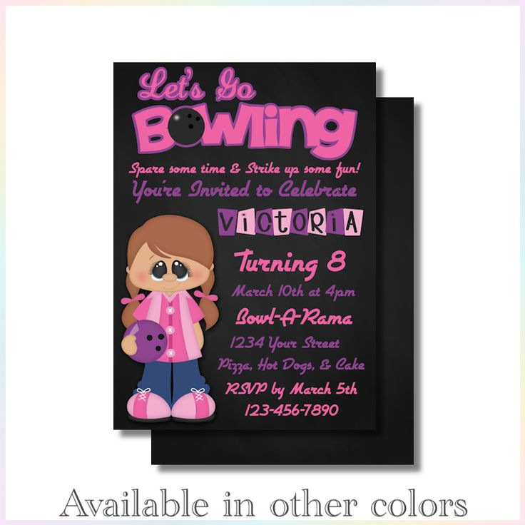 274 best Birthday Invitations images on Pinterest | Personalized ...