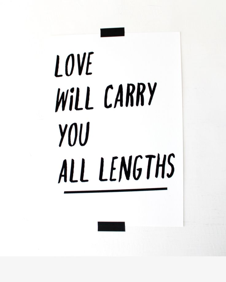 Love Will Carry You All Lengths. Print. Quote from Oliver Twist by Charles Dickens.