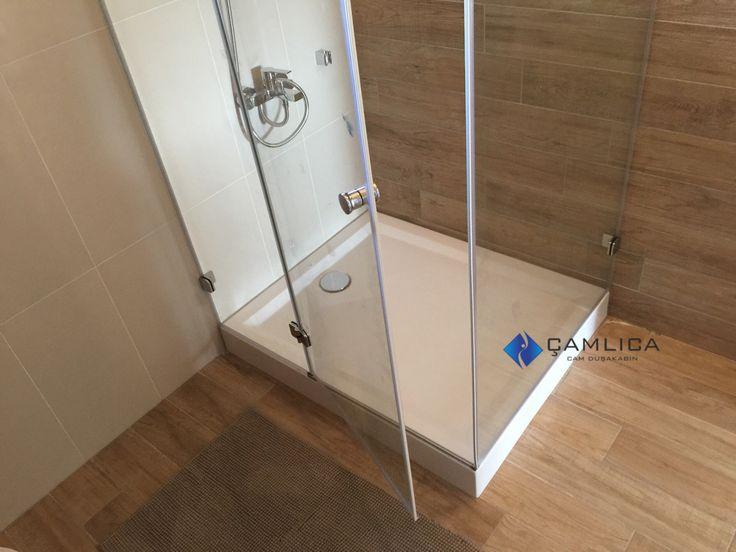 Banyo Dekorasyon Hazırlığı Monoblok DuşTeknesi   Cam Duşakabin Sistemleri